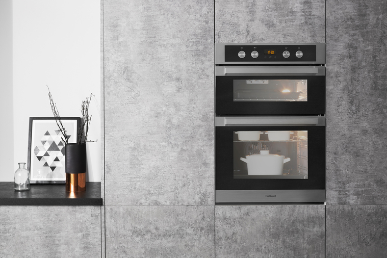Hotpoint DKD5 841 J C IX Multifunction Built-in Double Oven Image 5
