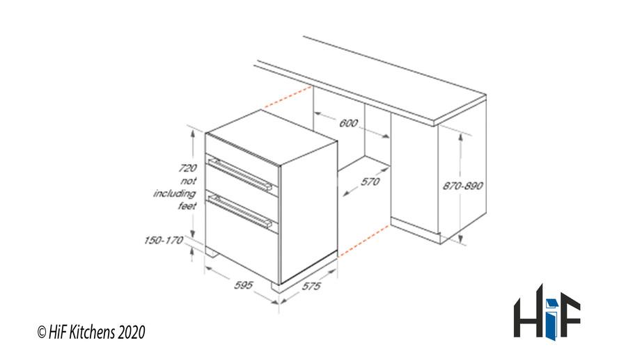 Hotpoint Class 2 DU2 540 IX Built-Under Oven Image 3