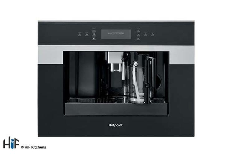 Hotpoint Class 9 CM9945H Built-in Coffee Machine 45cm - Black Image 1
