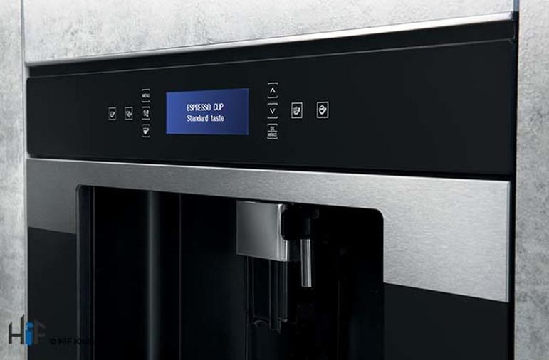 Hotpoint Class 9 CM9945H Built-in Coffee Machine 45cm - Black Image 2