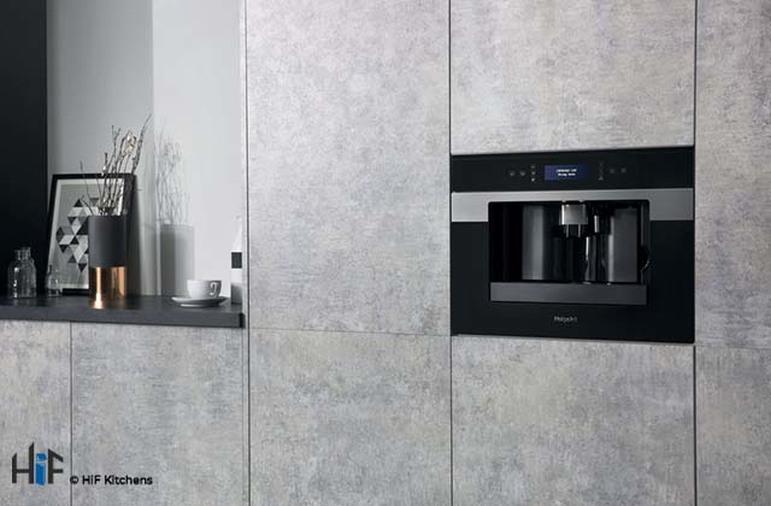 Hotpoint Class 9 CM9945H Built-in Coffee Machine 45cm - Black Image 4