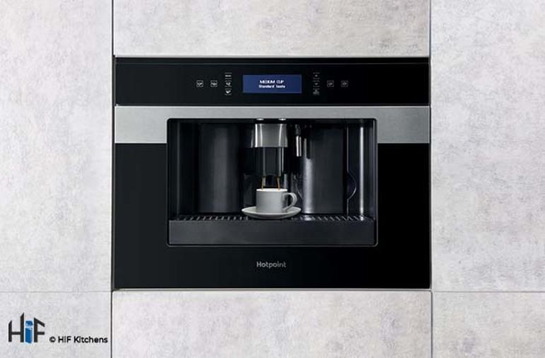 Hotpoint Class 9 CM9945H Built-in Coffee Machine 45cm - Black Image 3