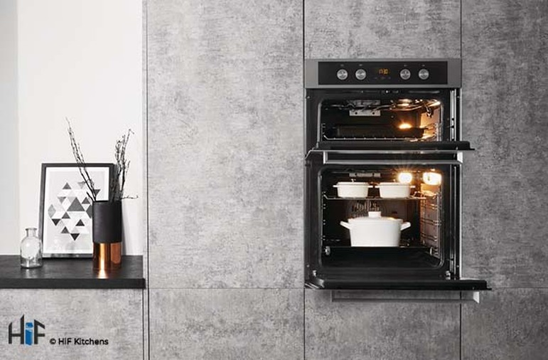 Hotpoint DKD5 841 J C IX Multifunction Built-in Double Oven Image 3