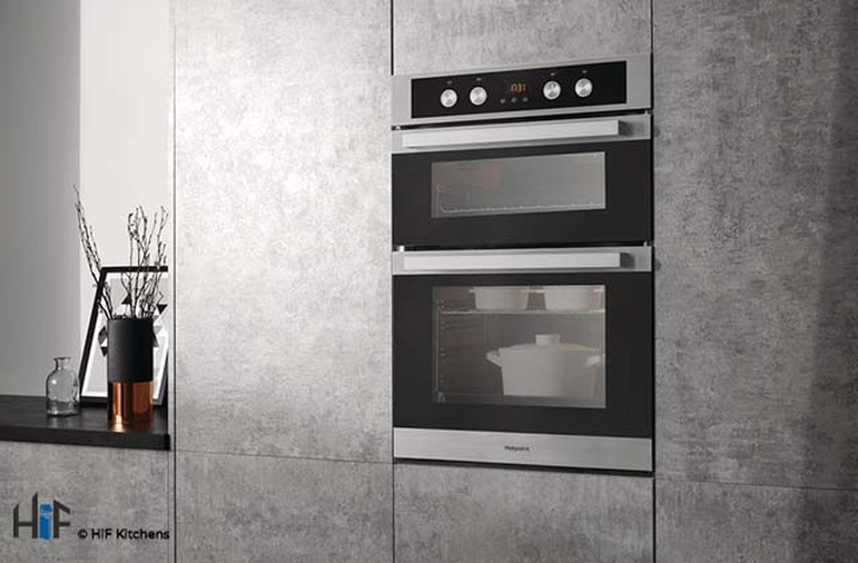 Hotpoint DKD5 841 J C IX Multifunction Built-in Double Oven Image 2
