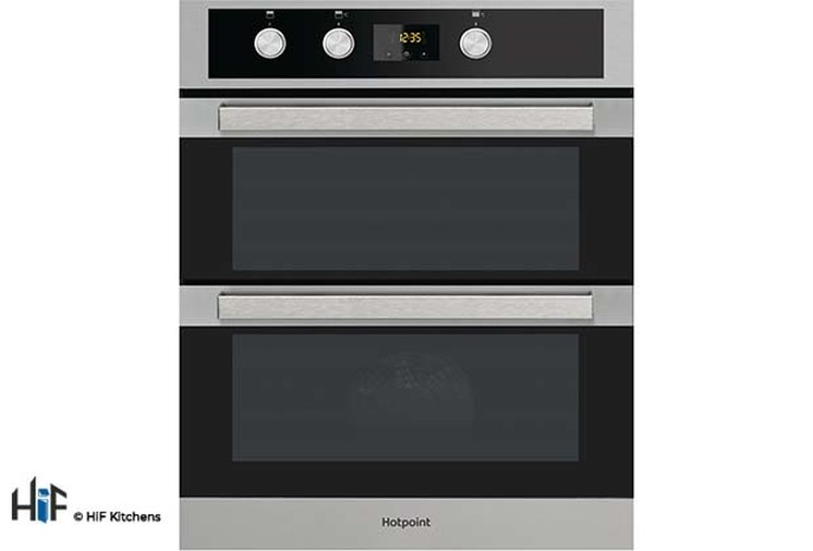 Hotpoint Built Under Double Oven DKU5 541 J C IX  Image 1