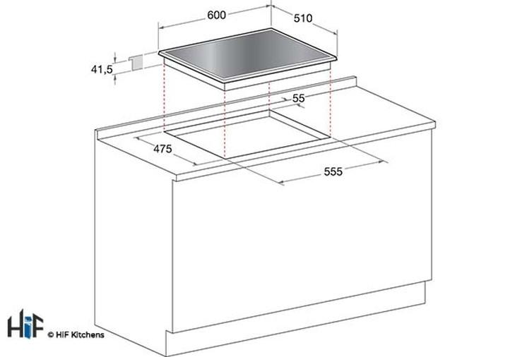 Hotpoint FTGHG 641 D/H(BK) 60cm Gas On Glass Hob Image 5