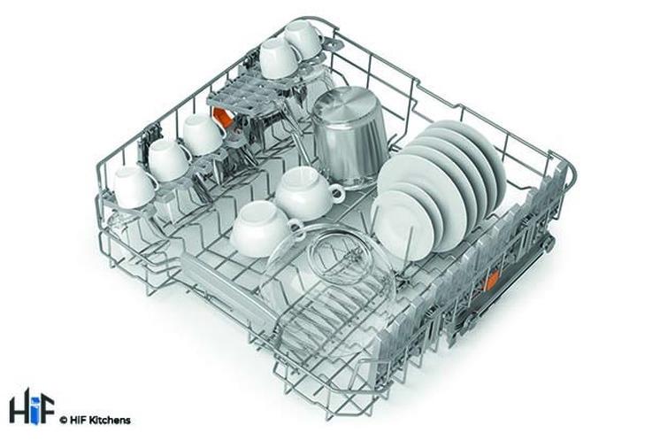 Hotpoint HIC 3C26 WF UK Int Dishwasher Image 14