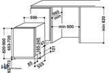 Hotpoint HIC 3C26 WF UK Int Dishwasher Image 17 Thumbnail