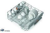 Hotpoint Ultima HIO 3C22 WS C Integrated Dishwasher Image 10 Thumbnail