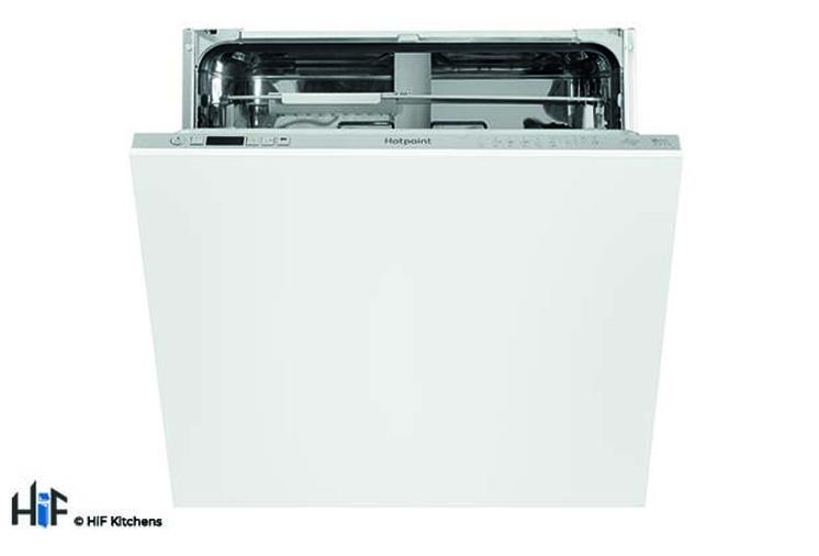 Hotpoint Ultima HIO 3C22 WS C Integrated Dishwasher Image 1
