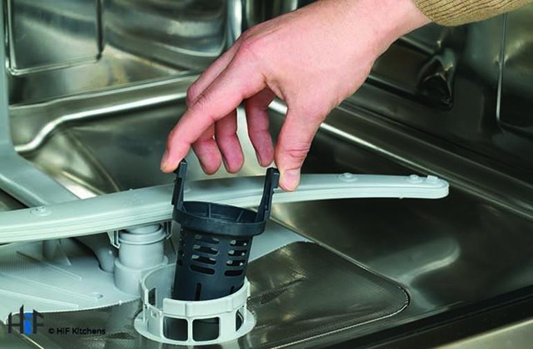Hotpoint LTB4B019 60cm Integrated Dishwasher Image 6