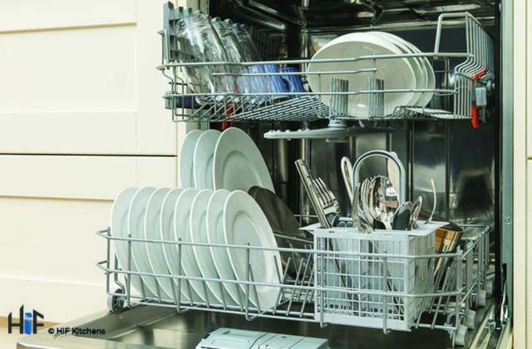 Hotpoint LTB4B019 60cm Integrated Dishwasher Image 9