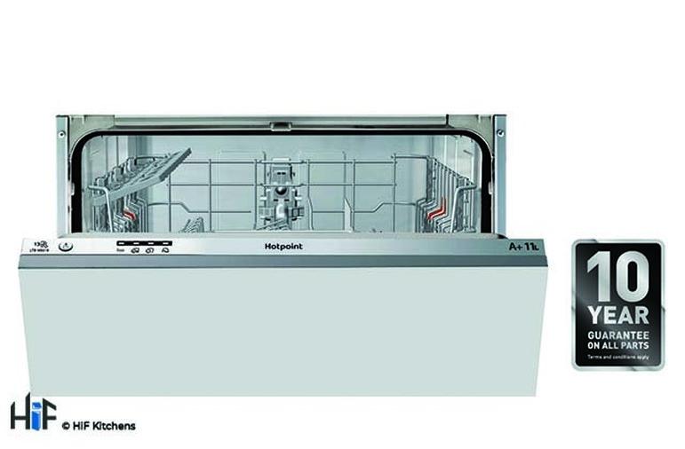 Hotpoint LTB4B019 60cm Integrated Dishwasher Image 2