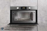 Hotpoint MD344IXH Built-In Microwave Oven With Grill Image 2 Thumbnail