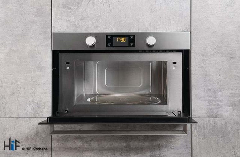 Hotpoint MD344IXH Built-In Microwave Oven With Grill Image 2