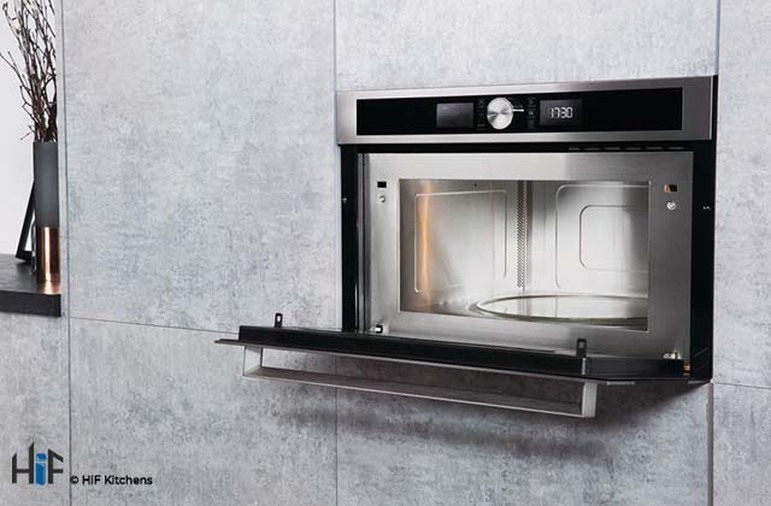 Hotpoint MD554IXH Built-In Microwave - Stainless Steel Image 4