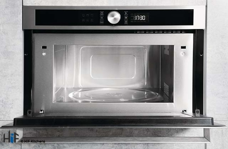 Hotpoint MD554IXH Built-In Microwave - Stainless Steel Image 3
