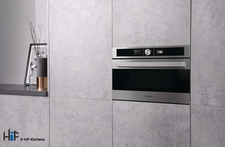 Hotpoint MD554IXH Built-In Microwave - Stainless Steel Image 7