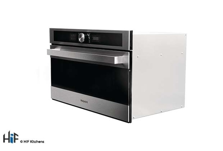Hotpoint MD554IXH Built-In Microwave - Stainless Steel Image 2
