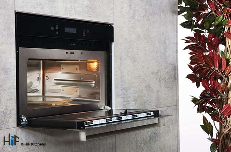 Hotpoint MP776IXH Combination Microwave Oven Image 3