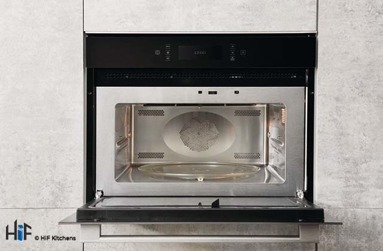 Hotpoint MP996IXH Combination Microwave Oven Image 3