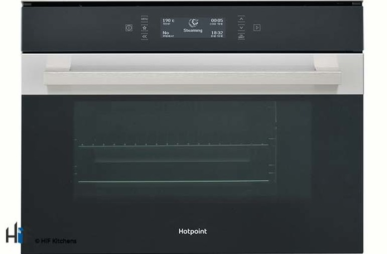 Hotpoint MS998IXH Compact Steam Oven Image 1