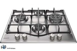 Hotpoint PCN641TIXH 60cm Gas Hob Stainless Steel Image 1 Thumbnail