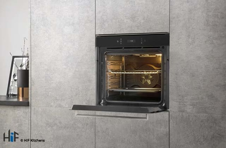 Hotpoint SI7871SCIX Multi Function Single Oven Image 7