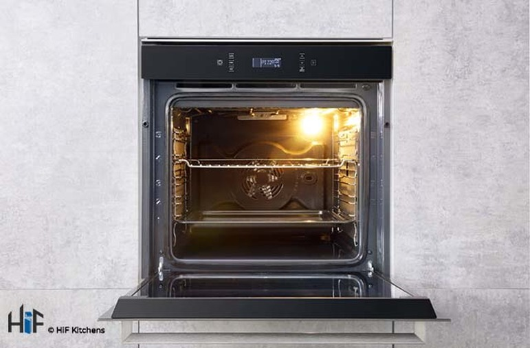 Hotpoint SI7871SCIX Multi Function Single Oven Image 2