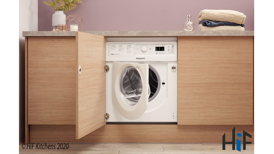 Hotpoint BI WDHL 7128 UK Integrated Washer Dryer Image 10