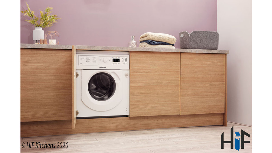 Hotpoint BI WDHL 7128 UK Integrated Washer Dryer Image 9
