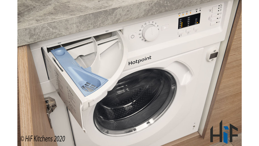 Hotpoint BI WDHL 7128 UK Integrated Washer Dryer Image 8