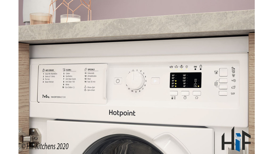 Hotpoint BI WDHL 7128 UK Integrated Washer Dryer Image 6
