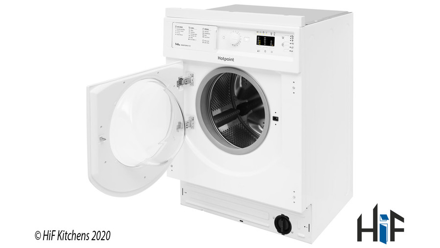 Hotpoint BI WDHL 7128 UK Integrated Washer Dryer Image 4