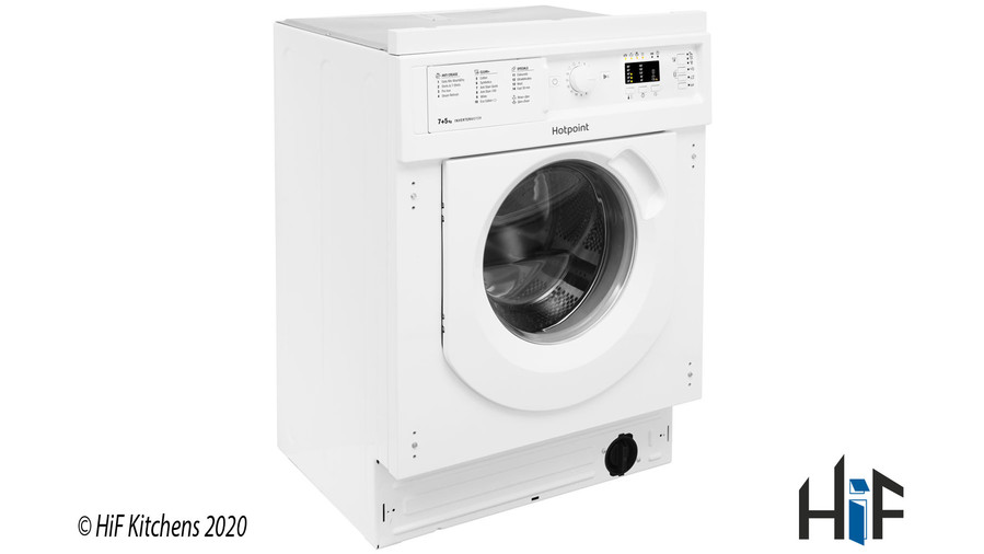 Hotpoint BI WDHL 7128 UK Integrated Washer Dryer Image 3