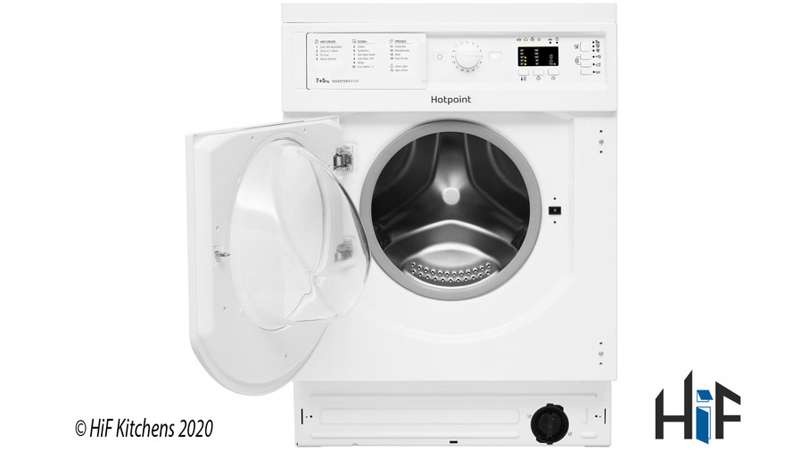 Hotpoint BI WDHL 7128 UK Integrated Washer Dryer Image 2