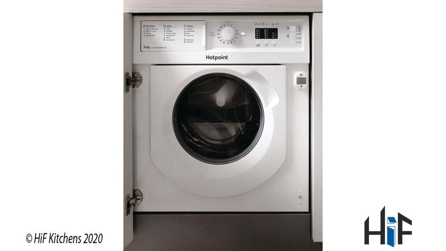 Hotpoint BI WDHL 7128 UK Integrated Washer Dryer Image 1