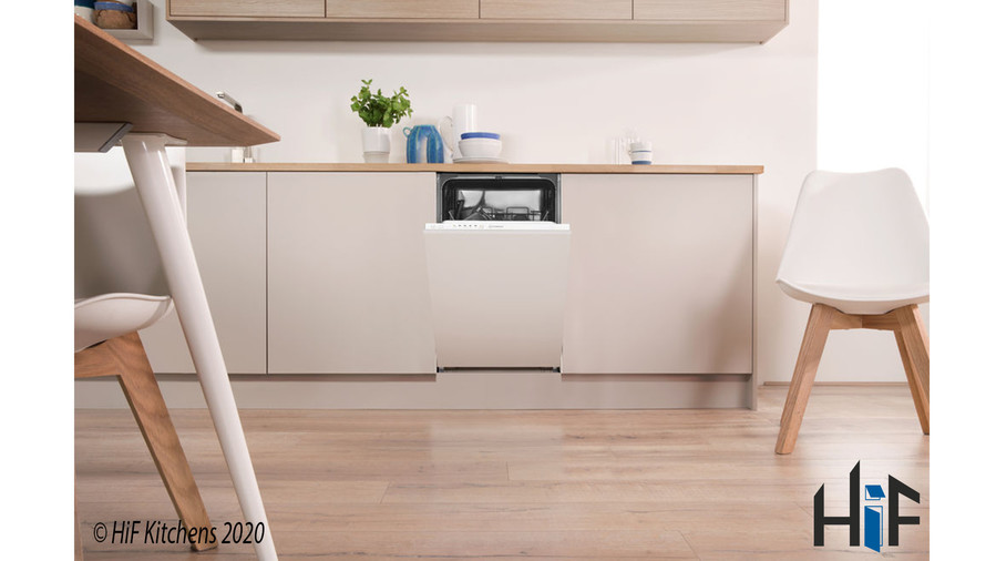 Indesit DSIE 2B10 UK Fast Eco Cycle Integrated Dishwasher Image 5
