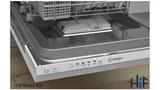 Indesit DSIE 2B10 UK Fast Eco Cycle Integrated Dishwasher Image 4 Thumbnail