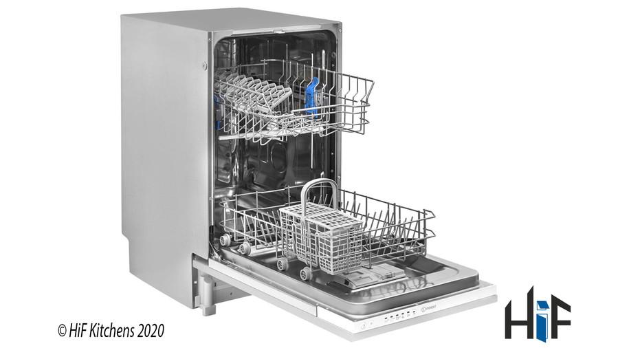 Indesit DSIE 2B10 UK Fast Eco Cycle Integrated Dishwasher Image 3