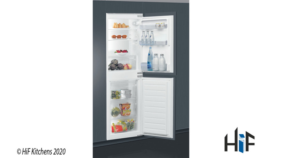 Indesit IB5050A1D Integrated Fridge Freezer Image 1
