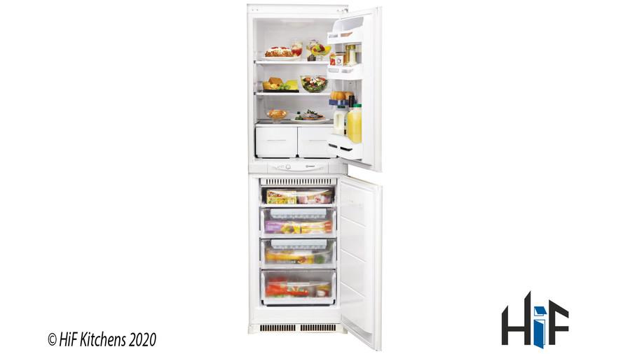 Indesit INC325FF1 Integrated Fridge Freezer Image 1