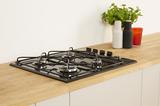 Indesit PAA 642 /I(BK) UK Gas Hob In Black Image 2 Thumbnail