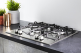 Hotpoint PCN641TIXH 60cm Gas Hob Stainless Steel Image 5 Thumbnail