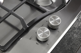 Hotpoint PCN641TIXH 60cm Gas Hob Stainless Steel Image 6 Thumbnail