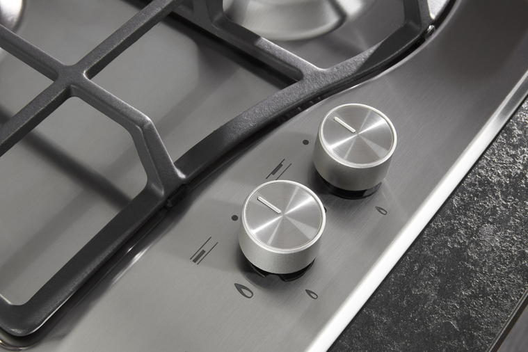 Hotpoint PCN641TIXH 60cm Gas Hob Stainless Steel Image 6