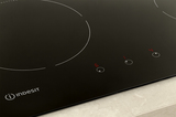 Indesit VIA 640 0 C Induction Hob In Black Image 5 Thumbnail
