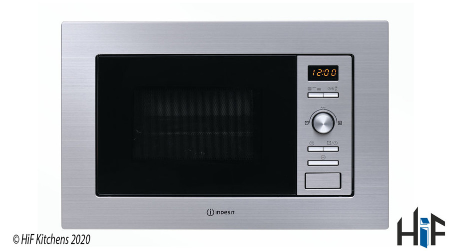 Indesit MWI122.2X Built-in Microwave Image 1