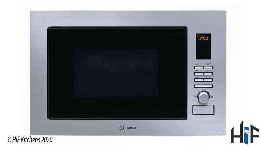 Indesit MWI222.2X Built-in Microwave Image 1