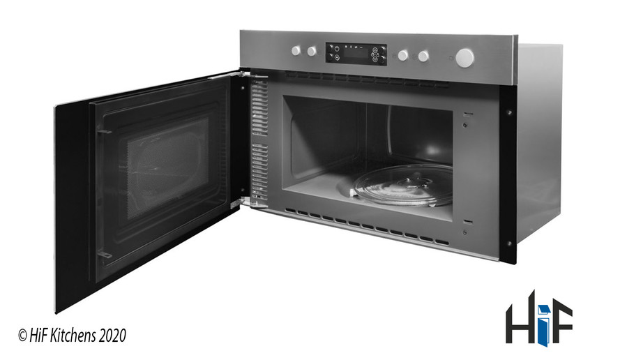 Indesit Aria MWI3213IX Built-in Microwave Image 3